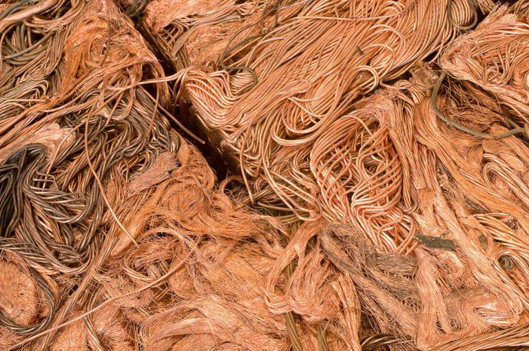 fios de cobre compactados/prensados